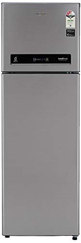 Whirlpool 292 L 3 Star Inverter Frost-Free Double Door Refrigerator (INTELLIFRESH INV CNV 305 3S, German Steel, Convertible)