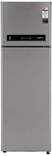 Whirlpool 292 L 3 Star Inverter Frost-Free Double Door Refrigerator (INTELLIFRESH INV CNV 305 3S, German Steel, Convertible)