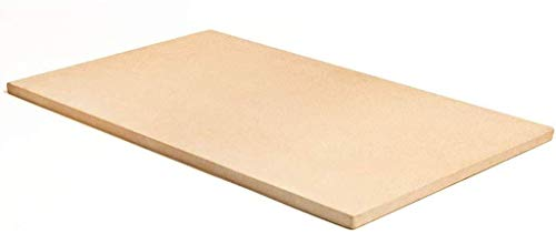 Rechthoekige Pizzasteen, Cordieriet-Bakgrillsteen, Weerstand Op Hoge Temperatuur, Ideaal Voor Ovens Grills BBQ-Taarten Gebakbrood Calzone, 16 X 12 Inch