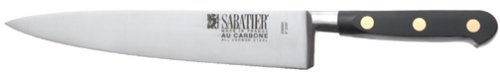 Sabatier Au Carbone 8-Inch Carbon Steel Chef's Knife