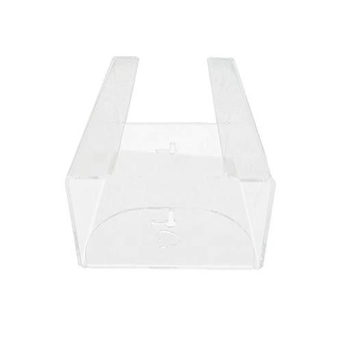 Baoblaze Wasserdicht Einweghandschuh Halterung Acryl Tissue Box Einmalhandschuhe Spenderbox