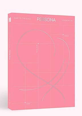 BTS Map of The Soul Persona Album Version 4 CD+Poster+Photobook+Mini Book+Photocard+Postcard+Photo Film+Gift (Extra 6 Photocards Set)