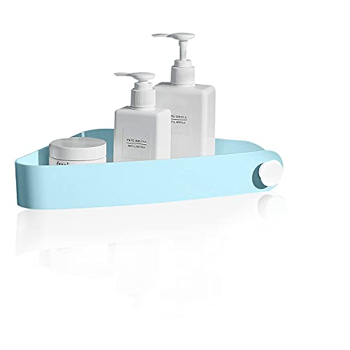 Corner Shower Shelf Bathroom Shelves,Soap Dish Shower Shelf,Soap Holder for Shower,No Drill Needed,Self Adhesive Bathroom Shelves,Can Hold Soap, Shampoo and Facial Cleanser