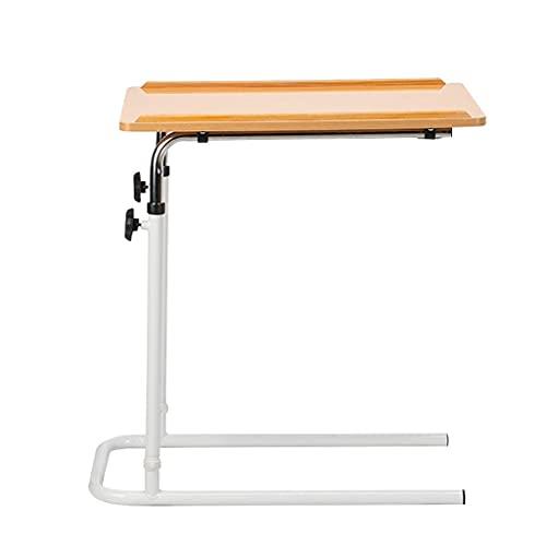 AWJ Mesa de Cama,Altura Ajustable,Silla Ligera/Mesa de Cama para Personas Mayores,Uso para Comidas,Trabajo y Actividades