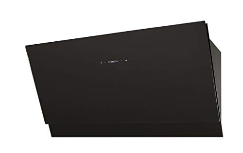 Baumatic BESW901BGL - Campana de cristal (90 cm), color negro