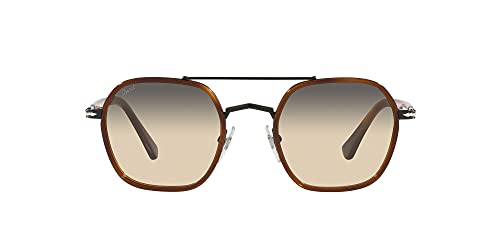 Persol Gafas de sol cuadradas Po2480s, Habana claro,