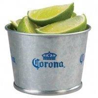 Corona Galvanized Metal Mini Lime Bucket
