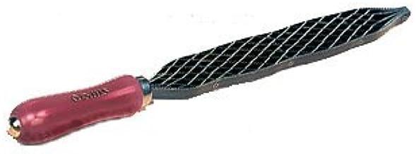 Hieb 1 Flachstumpf Stanley Holzraspel 0-22-465 Karbon-Stahl, ergonomischer Bi-Material Handgriff, Griffaussparung