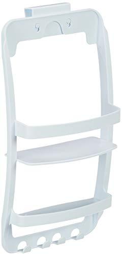 Wenko 8409100 Etagère de douche universelle, Blanc, Plastique, 26 x 54,5 x 11,5 cm