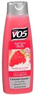 Alberto VO5 Moisture Milks Moisturizing Shampoo, Strawberries & Cream - 2pc