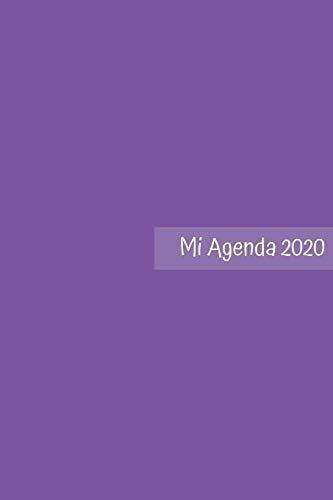 Mi Agenda 2020: Agenda Para Gente No Convencional | Con Espacio para Objetivo Semanal, Alimentación y Deportes y Gratitud | Regalo Perfecto para Navidad | Tamaño A5