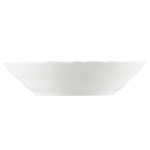 Hutschenreuther Soucoupe à Déjeuner, Porcelaine, Blanc, 15,6 x 15,6 x 9,2 cm