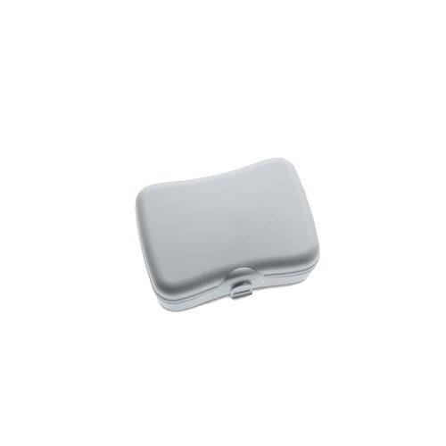 Koziol 3707632 Panier-Repas Séparation, Plastique, Gris Froid, 28 x 18 x 18 cm