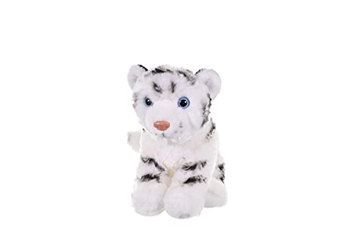 Wild Republic White Tiger Plush, Stuffed Animal, Plush Toy, Gifts for Kids, Cuddlekins 8 Inches,Multicolor