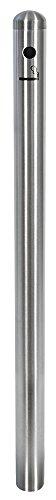 Securit - Cenicero de pie (acero inoxidable, 100 cm), diseño de poste