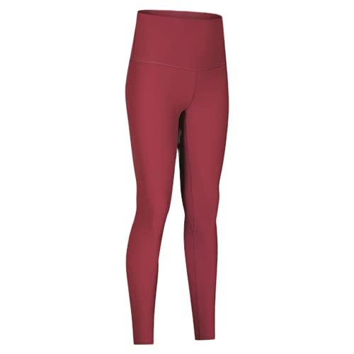 QTJY Pantalones de Yoga de Cintura Alta para Mujer, Mallas Deportivas Suaves para Estiramiento del Vientre, Mallas elásticas para Celulitis, Pantalones Deportivos D XL