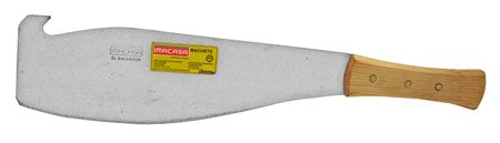"21"" Imacasa Sugar Cane Machete - Wood Handle"