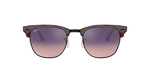 Ray-Ban Clubmaster Color Mix RB3016-12753B-51 Gafas de sol, Tortoise, 51 Unisex
