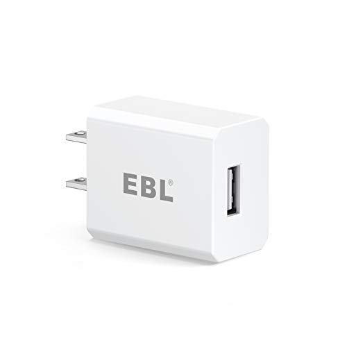 EBL USB Wall Charger, 5V 2.1A Charger Adapter for EBL Charger Power Supply (Model: C9008 C9010N 6828 FY-408 FY-409 6201 C668) and iPhone, Samsung Galaxy, HTC, LG, Table, Motorola and More