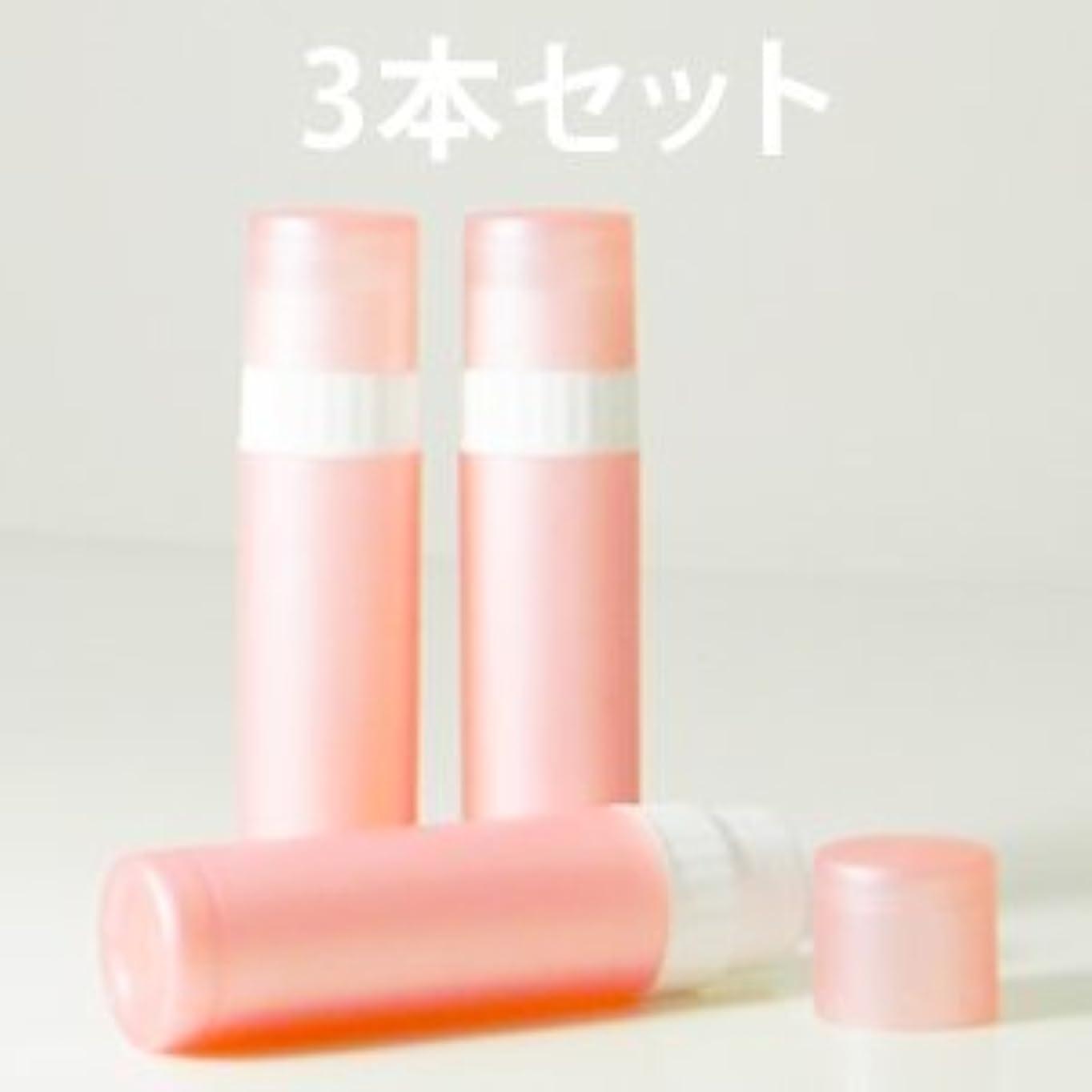 小屋タックル幾分リップバームチューブ (ピンク) 3本セット 【手作り化粧品容器】