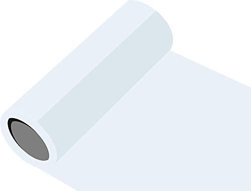 INDIGOS Oracal 651 Orafol glänzend, für Küchenschränke und Dekoration, Autobeschriftung, Schutzfolie Folie 5 m, Breite 63 cm, Farbe 10, weiß, ORACAL651-1-5mx63-10