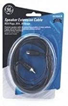 GE 22640 24 Gauge RCA Plugs Speaker Wire (20 Feet) (Discontinued by Manufacturer)