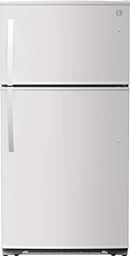Kenmore 4661202 Top Freezer Refrigerator, White
