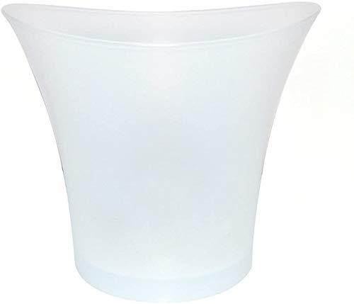 ZF LED Cubo de Hielo Luminosa Completa de Colores de la Pendiente del Cubo de Hielo del refrigerador Champagne Cambie los Colores del Cubo de Hielo para la Boda de la Barra del Partido Inicio,White