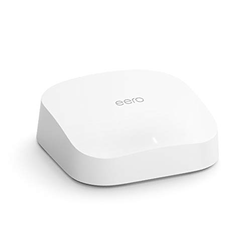 Amazon eero Pro 6 tri-band mesh Wi-Fi 6 Wifi router with built-in...