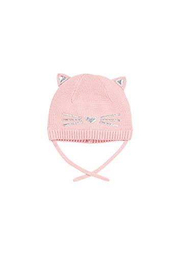 s.Oliver Baby-Mädchen 59.909.92.2290 Mütze, Rosa (Dusty Pink 4261), 41/43 (Herstellergröße: 39-43)