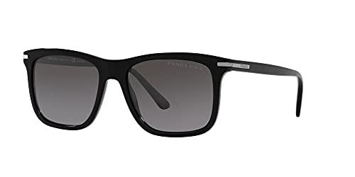 Prada Gafas de Sol PR 18WS Black/Grey Shaded 56/18/150 hombre