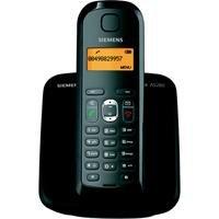 Siemens Gigaset AS280 in schwarz mit Freisprechfunktion bel.Grafik-Display u Tastatur