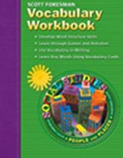 Scott Foresman Vocabulary Workbook: People and Places, Grade 2