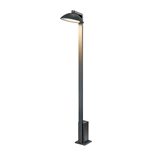 SLV MALU Pole, LED Outdoor Stehleuchte, anthrazit, IP44, 3000K Floor lamp, Aluminium, 9.2 W