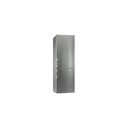 Smeg CF33XPNF Libera installazione 287L A+ Acciaio inossidabile frigorifero con congelatore