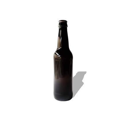 Confezione da 100 bottiglie di vetro per birra, 330 ml, 33 cl