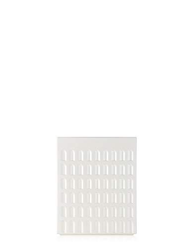 Kartell Sgabello, Resina Plastica, Bianco, 36 x 45 x 36 cm