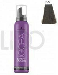 Schwarzkopf Igora Expert Mousse - 5-5 Light Brown Gold by Schwarzkopf Professional by Schwarzkopf Professional