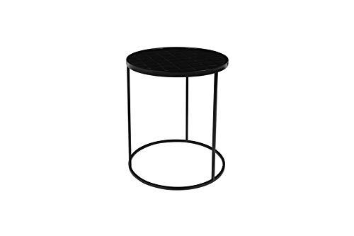 Zuiver Table d'appoint Glazed Noire   Une Table d'appoint au Charme Vintage
