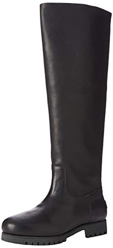 Shabbies Amsterdam Damen LOIS Stiefeletten, Schwarz (Black 0025), 41 EU