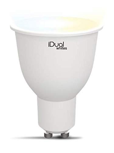 iDual Whites GU10 1P Color blanco lámpara LED
