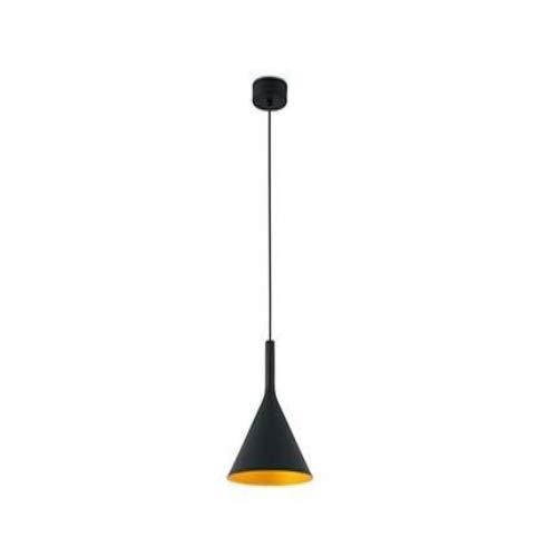 FARO BARCELONA 64162 PAM-G LED Lampe Suspension Noir et Or