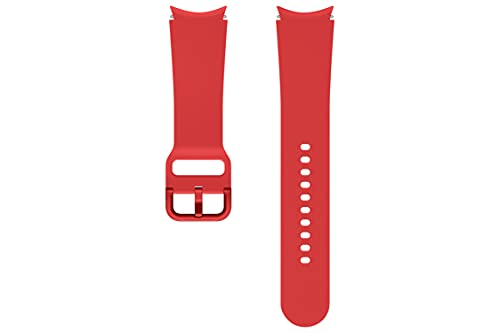 Samsung Correa de reloj Sport Band (FKM) - Correa de reloj oficial Samsung - 20mm - M/L - Rojo