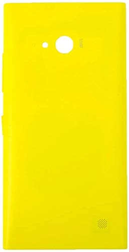 Cell Phone Battery Back Cover Battery Back Cover for Nokia Lumia 735(Black) (Color : Yellow)