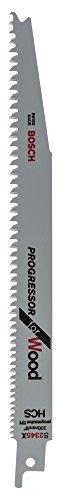 Bosch Professional 2 unidades Hoja de sierra sable S 2345 X Progressor...