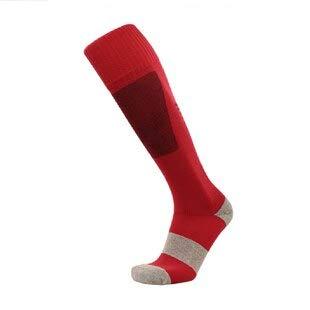 Heren 20-30 mmHg Gegradueerde Compressie Sokken Stevige Druk Circulatie Kwaliteit Knie Hoge Ademende Slang Sock Vliegtuig Reizigers Volwassene Rood