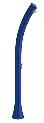 Douche solaire Arkema F500/5012 Happy Five – Bleu douche solaire en polyéthylène HD, résistant aux rayons UV, à la saucisse et au calcaire. Idéale dans les environnements marins très venus. Capacité 28 litres. Poids 9 kg. Hauteur 217 cm. Mitigeur chaud et froid.