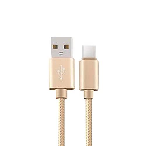 4本セット 1m+1.5m+2m+3m iPhone ライトニング Lighting Type-C MicroUSB Android 充電ケーブル 急速充電 Lightning,ゴールド