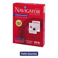 Navigator Premium Multipurpose Paper, 97 Bright, 20lb, Letter, White, 200,000 Sheets/PLT - NMP1120PLT