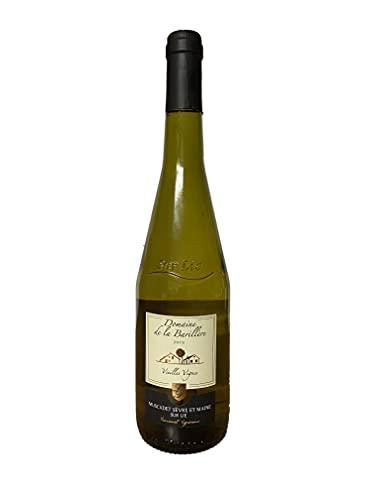 Muscadet sur Lie 2019, Vieilles Vignes, Vin Blanc Sec, par 1 bouteille de 75cl.